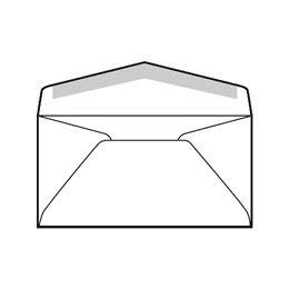 Commercial Regular Envelopes 24 White Wove