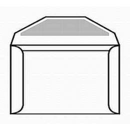 Document Envelope Sub 40 White Kraft - Regular Gum